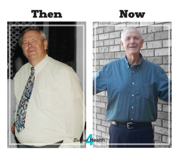 Bryan Larson, Excellent 4 Health, Then and Now, Before and After
